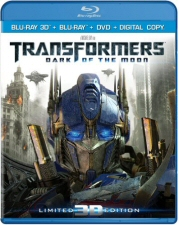 Transformers: Dark of the Moon 3D Blu-Ray