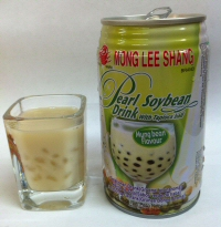 Mong Lee Shang Pearl Soybean Drink with Tapioca Balls and Mung Bean Flavour!