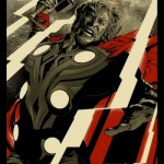 Thor Avengers poster by Mondo