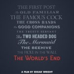 The World's End teaser poster