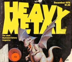 Heavy Metal: December 1978 Cover