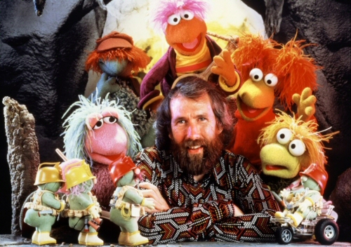 Jim Henson and friends from Fraggle Rock