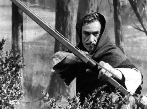 Patrick Troughton as Robin Hood
