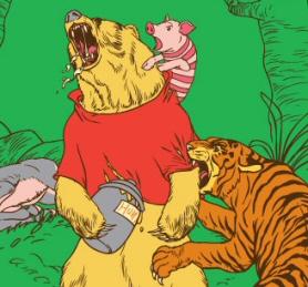 Winnie the Pooh - Threadless