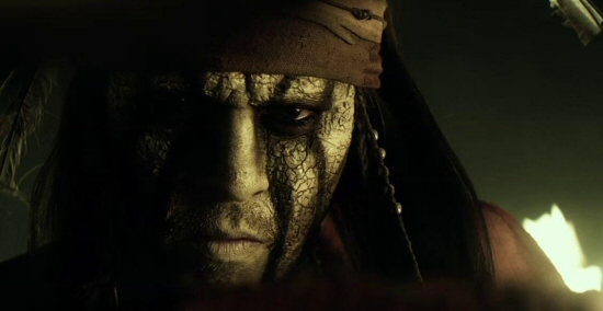 Johnny Depp as Tonto from The Lone Ranger (2013)