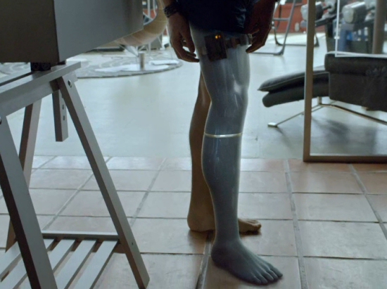 Almost Human: Cybernetic Leg