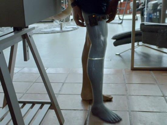 Almost Human: Cybernetic Leg