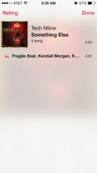 iOS 7 Music Rating