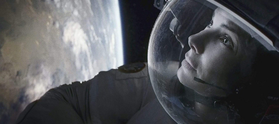 Sandra Bullock in Gravity