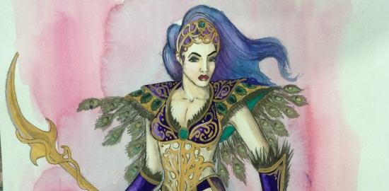 Love and Warcraft Princess Azareth Design