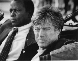 Sidney Poitier and Robert Redford from Sneakers