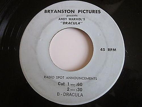 Andy Warhols Dracula Promo 45