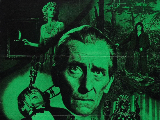 Peter Cushing in The Ghoul