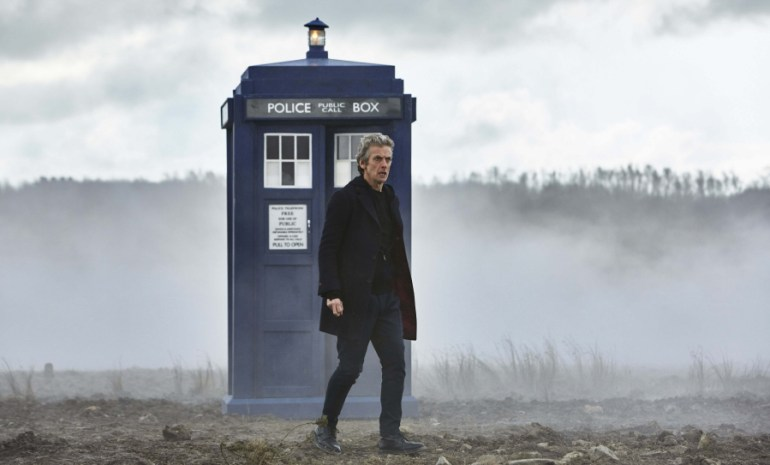 The Doctor and TARDIS