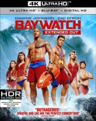 Baywatch Extended Cut 4k Ultra HD Blu-ray