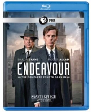Endeavour Season Four Blu-ray