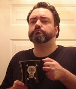 Me and one of my favorite mugs