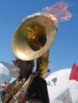 If I Was a Tuba Playing to a Britney Spears Track, I Might Try to Set Myself on Fire Too
