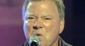 William Shatner sings