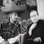 Mel Blanc and Jack Benny