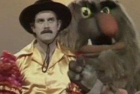 John Cleese and Sweetums