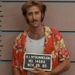 Nicolas Cage in lineup from Raising Arizona