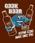 Bawls Announces G33k B33r