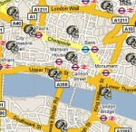 A London Map of the Dead
