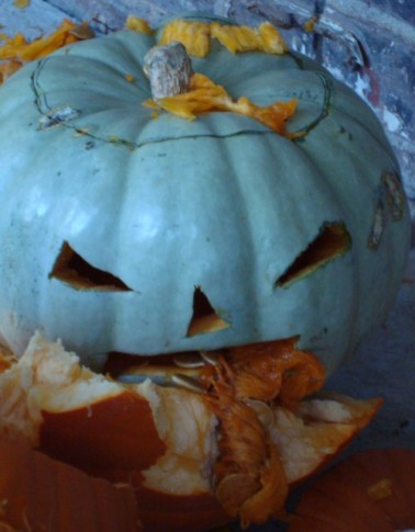 Zombie Pumpkin No. 1