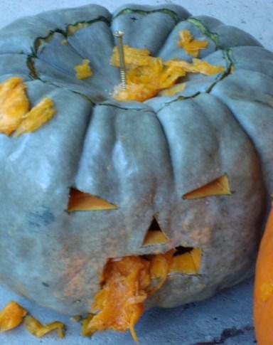 Zombie Pumpkin No. 2