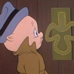 Porky Pig from The Wearing of the Grin