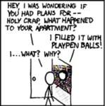 xkcd: Playpen Balls