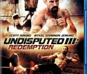 Undisputed III: Redemption Blu-ray Cover Art