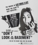32 Days of Halloween IV, Movie Night No. 1: Don't Look in the Basement