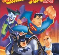 Batman-Superman Movie DVD