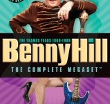 Benny Hill The Complete Megaset The Thames Years 1969-1989 DVD Cover Art