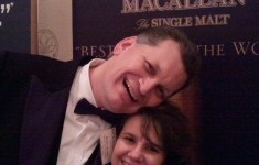 The Macallan Man and Leigh