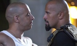 Vin Diesel and Dwayne Johnson from Fast Five