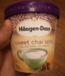 Sweet Chai Latte by Haagen-Dazs Ice Cream - Review