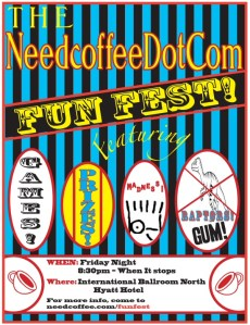 Need Coffee Dot Com Fun Fest 2011
