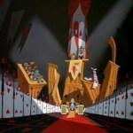Alice in Wonderland background art