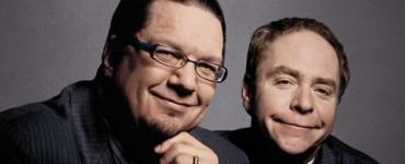 Penn and Teller smiling