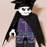 Sandman, an Endless Lego Minifig