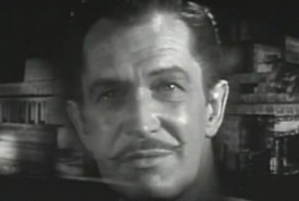 Vincent Price in The House on Haunted Hill