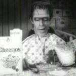 Herman Munster for Cheerios