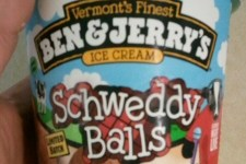 Schweddy Balls Ice Cream by Ben and Jerrys