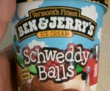 Schweddy Balls Ice Cream by Ben and Jerrys