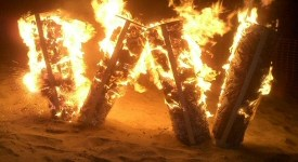 Burning W