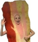 Bacon Costume: I've Had Hallucinations Like This Before...
