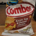 Bacon Egg and Cheese Cracker Combos